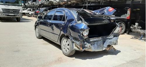sucata toyota corolla 1.8 16v aut. 2007 - retirada de peças