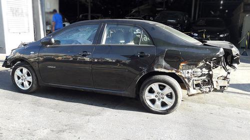 sucata toyota corolla 1.8 2010 motor cambio rodas airbag