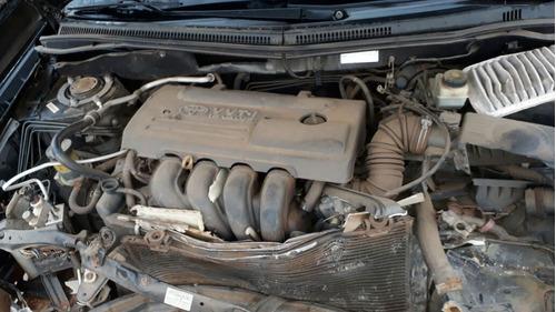 sucata toyota corolla 2008 1.8 16v automatica rs peças