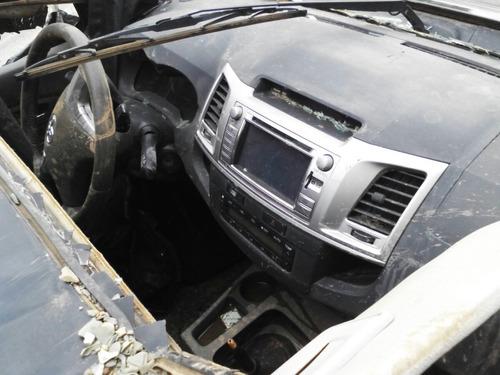 sucata toyota hilux 3.0 4x4 diesel 2013 vendo peças