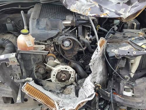 sucata toyota hilux cd srv 3.0 d-4d turbo diesel 2007