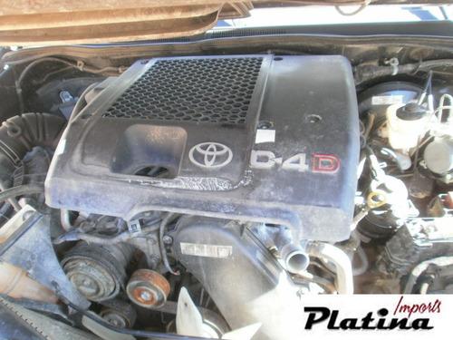 sucata toyota hilux srv 2008 peças motor câmbio diferencial