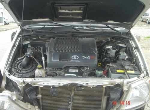 sucata toyota hilux srv 3.0 2007 peças motor lataria cambio