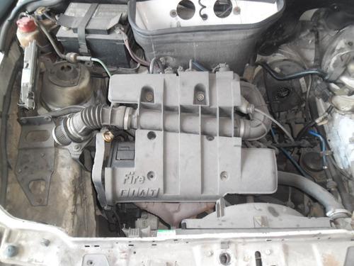 sucata uno 1.0 fire flex 2006 pra tirar peças motor cambio