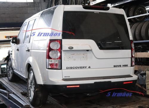 sucata venda peças acesórios discovery 4 3.0 diesel 2013