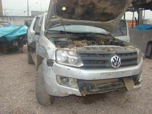 sucata volkswagen amarok 4x4 diesel 2014 retirada de peças