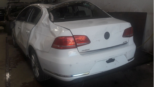 sucata volkswagen passat 2.0 turbo tsi 2011 / 2011