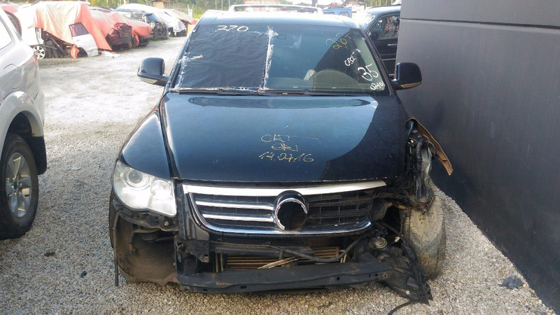 sucata volkswagen touareg v8 2007 8 fsi