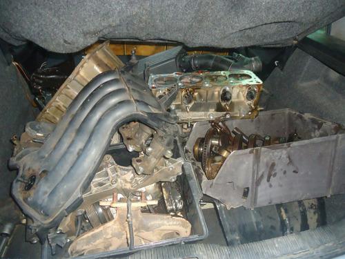 sucata vw golf 2.0 em partes motor carroceria mecanica tudo
