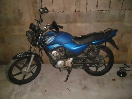 sucata ybr 125 k 2004  yamaha  pra retirar peças motor rodas
