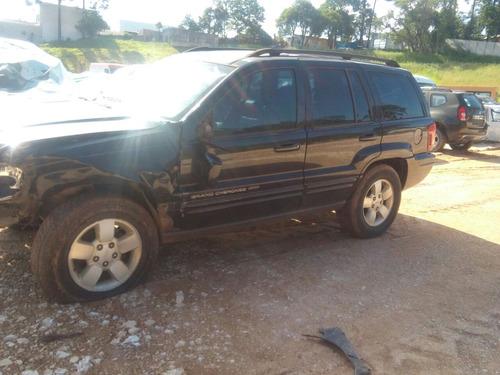 sucatas jeep grand cherokee 2004 retirada de peças