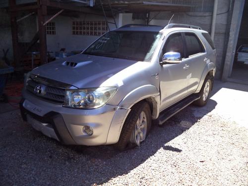 sucatas peças toyota hilux sw4 3.0 diesel 2010