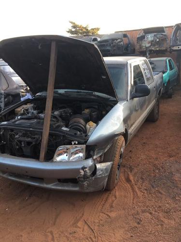 sucatas s10 1997 motor cambio diferencial portas peças