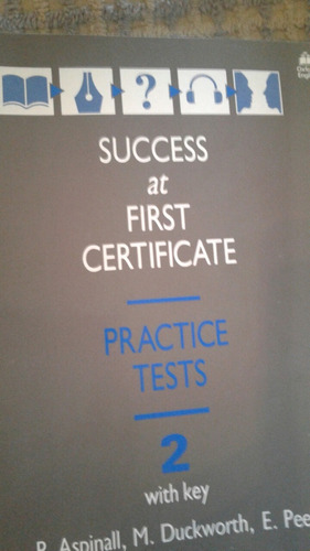 success at first certificate