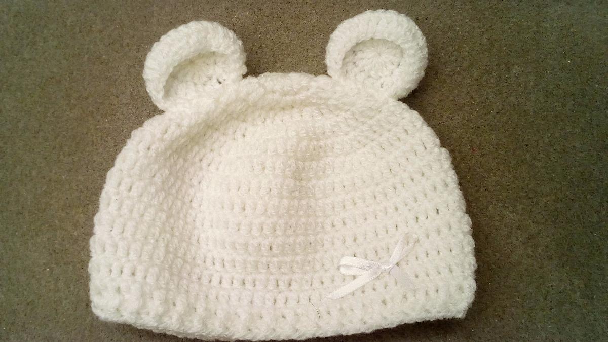 Succulentatuy Gorros Y Manoplas De Recien Nacido Crochet - Bs. 0,80 ...