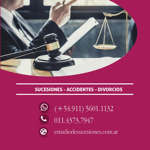 sucesiones divorcios accidentes abogados especializados