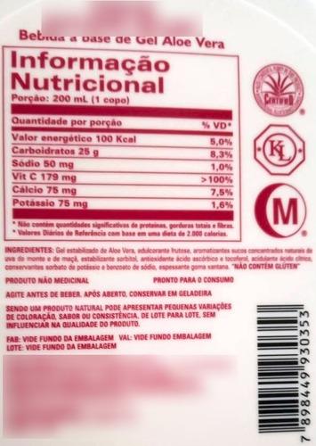 suco de aloe vera aloe berry nectar - forever living