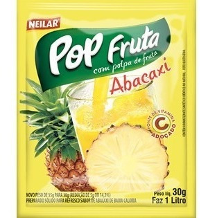 suco pop fruta 160 x 30g