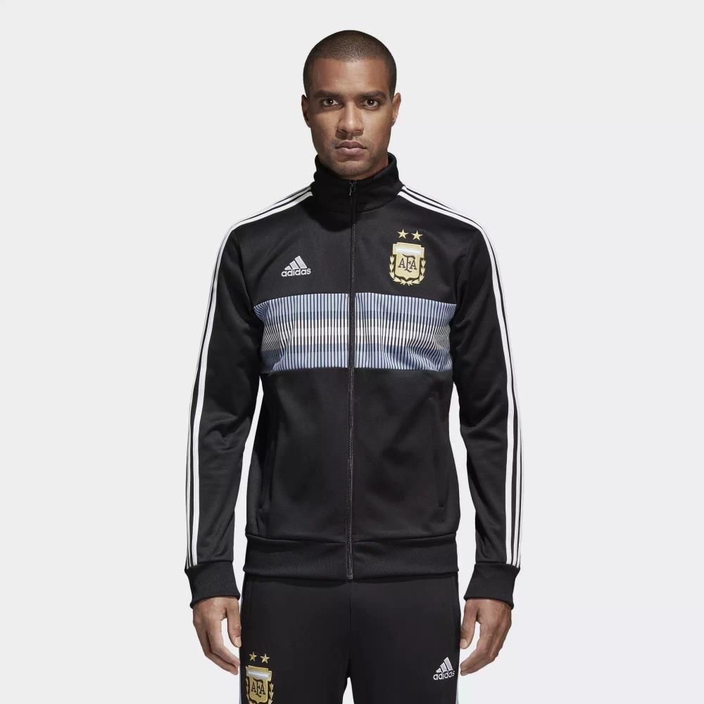 sudadera adidas argentina 3 stripes track jacket caballero. Cargando zoom. 639b75b9d35