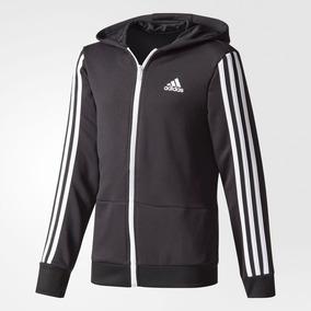 Up Gear Rayas Sudadera Niño Essential Adidas Tres Full Zip CedoxrBW