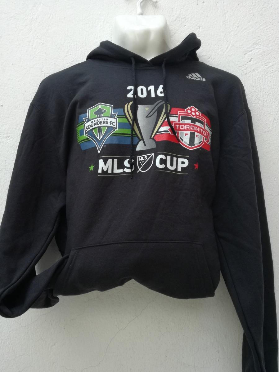 Para Sudadera Adidas Oficial Hombre Negra Mls Cup CWredxBo