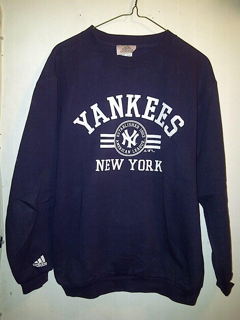 York 00 En Libre New Adidas Marino Yankees Mercado 499 Sudadera EZxqHwCYZ