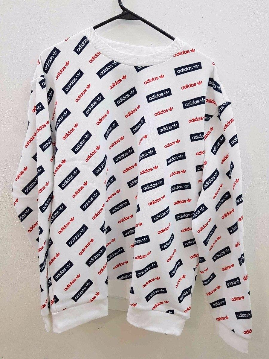 199 Adidas Sudadera Estampada Linear1 Originals Trifolio 00 nOPk0w