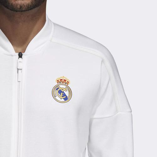Caballero Z e Sudadera Real Adidas Madrid n Jacket BodCxeWQr