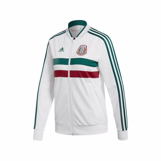 Sudadera adidas Selección Mexicana Blanca 6f7aed3fba38c