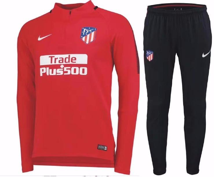 Sudadera Atletico De Madrid Original Nike -   160.000 en Mercado Libre 73fb2c3924aef