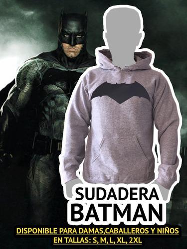 sudadera batman super heroe