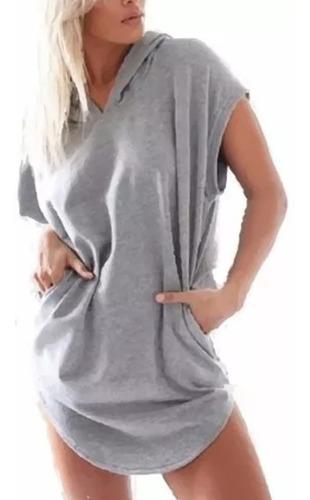 sudadera blusón chaleco sport hoodie deportivo gorro 6302