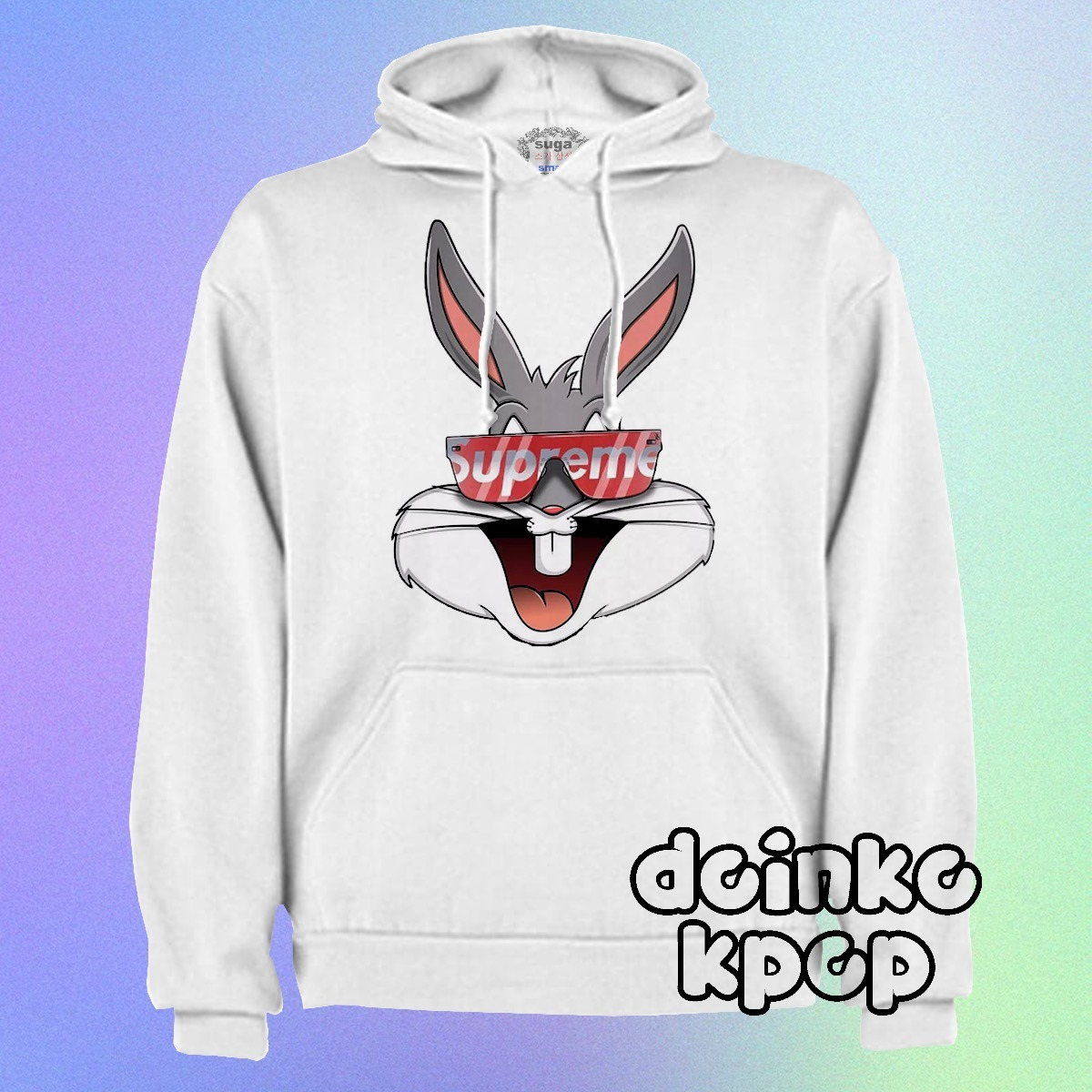 gran venta 65c90 ae8e4 Sudadera/ Bugs Bunny/mosichino/moda Japonesa/supreme/suga