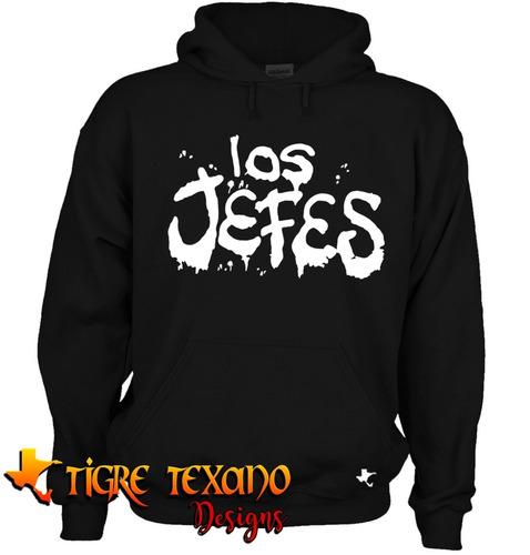 sudadera cártel de santa los jefes   by tigre texano designs