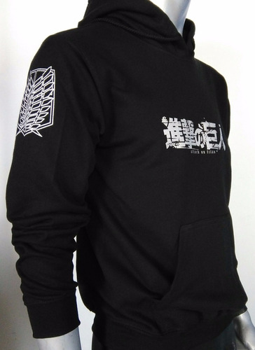 sudadera cerrada anime attack on titan 333cosplay