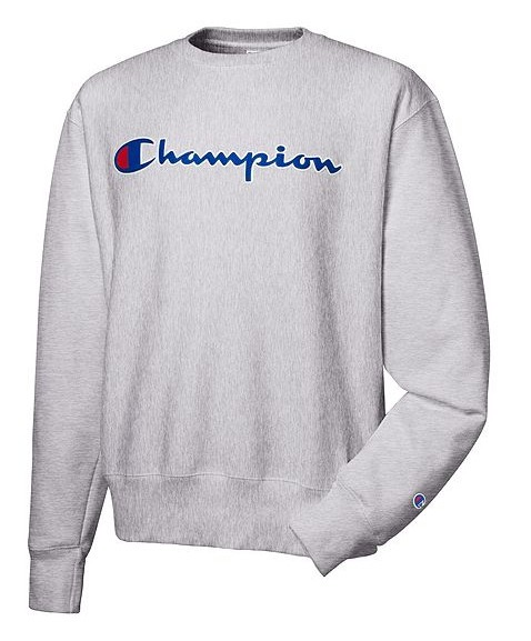 lo último bfd50 b938d Sudadera Champion Rw Script Rs Crewneck Original The Reason