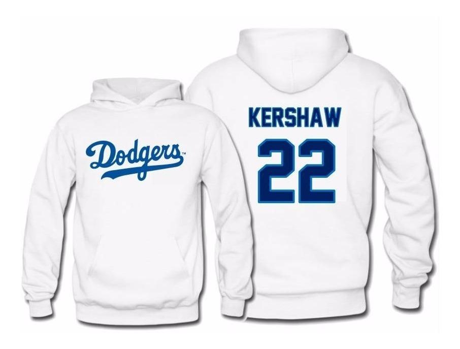 san francisco fe2c4 c9150 Sudadera Clayton Kershaw Jersey Los Angeles Dodgers Mlb