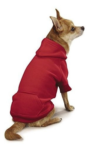 sudadera con capucha basica de algodon canino casual