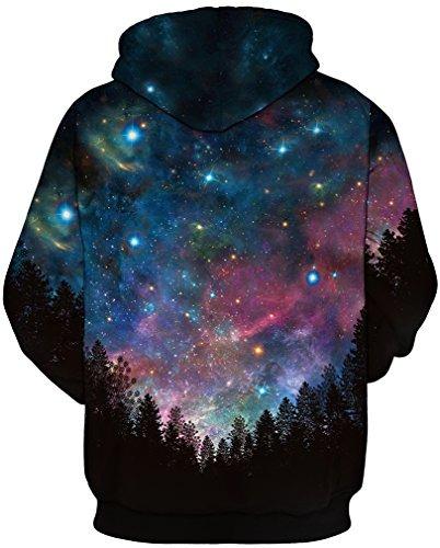 comprar online 97a88 f51c7 Sudadera Con Capucha Superior De La Galaxia De Las Camisetas