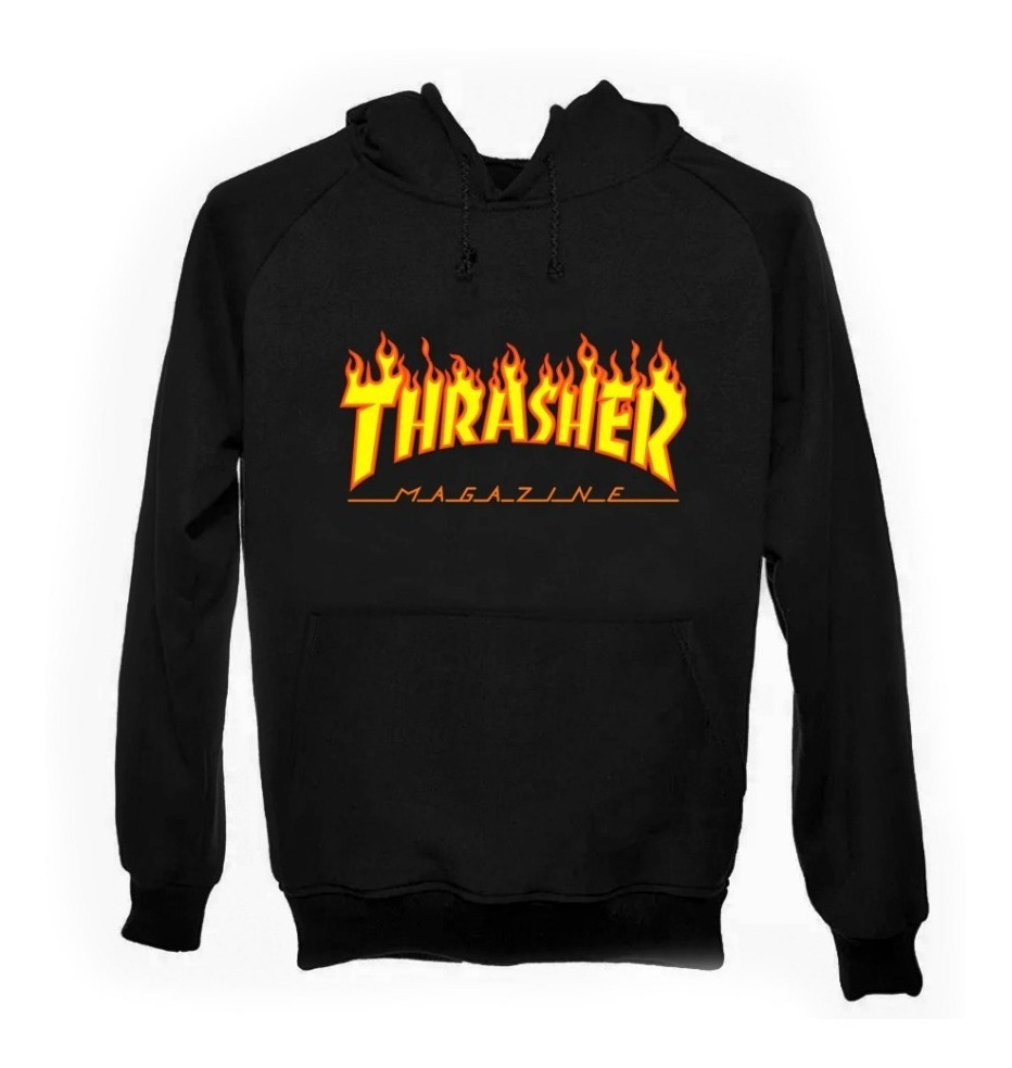 disponibilidad en el reino unido 04429 db433 Sudadera Con Gorro Thrasher Magazine Skate Tallas 2xl Xxl