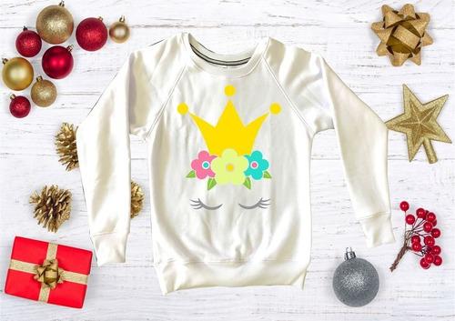 sudadera  dama unicornio, navidad, pandas, harry potter m16