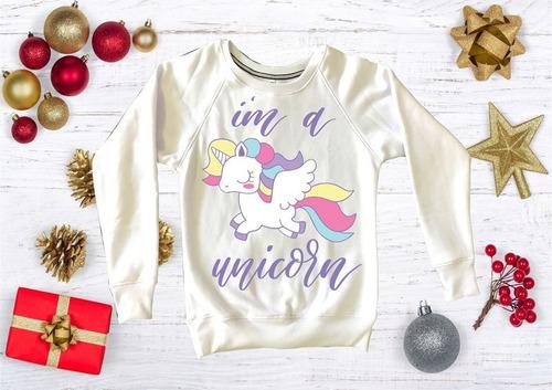 sudadera  dama unicornio, navidad, pandas, harry potter m40