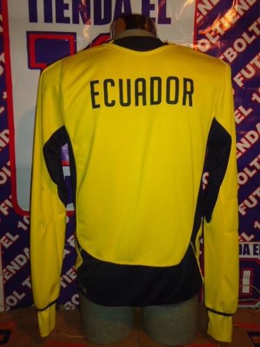sudadera de futbol seleccion de ecuador practica