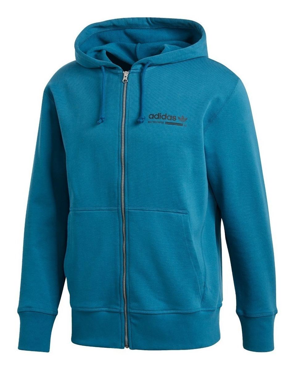 Sudadera Gorro Adidas Azul Originals Con De Kaval Hombre y7bf6g