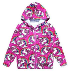 comprar online e507f 7589a Sudadera De Unicornio Para Niñas Talla 4/5 Marca Jxstar