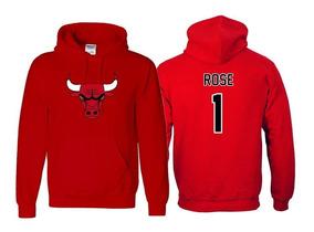 new york f81ff 95a5d Sudadera Derrick Rose Jersey Chicago Bulls Nba Toros