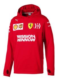 precio oficial sensación cómoda 100% Calidad Sudadera Ferrari F1 Puma Vettel Leclerc Genuina Linea 2019