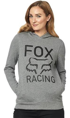 sudadera fox dama pullover established grafito