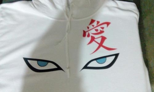 sudadera gaara naruto shippuden sakura sasuke boruto anime