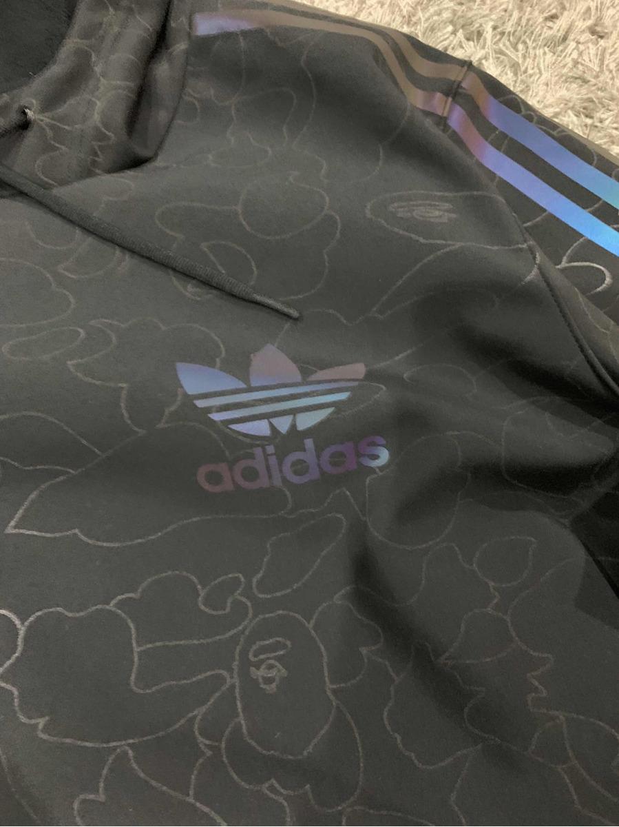 Adidas 000 00 Tech Bape 9 Hoodie En X Sudadera Original xScwnqPtx0